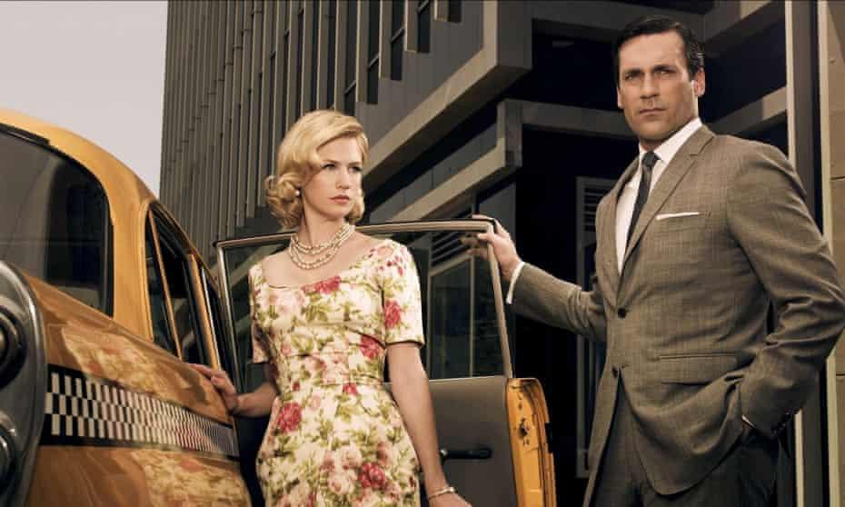 Affection generators … January Jones and Jon Hamm in the TV series Mad Men. Photograph: Allstar/Lionsgate Television
