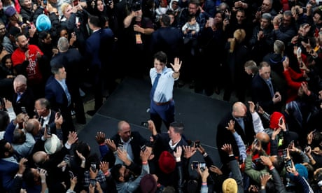 Canada election 2019: 'We'll govern for everyone' says Trudeau, after narrow win – as it happened