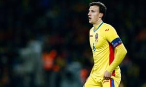 Romania's Vlad Chiriches