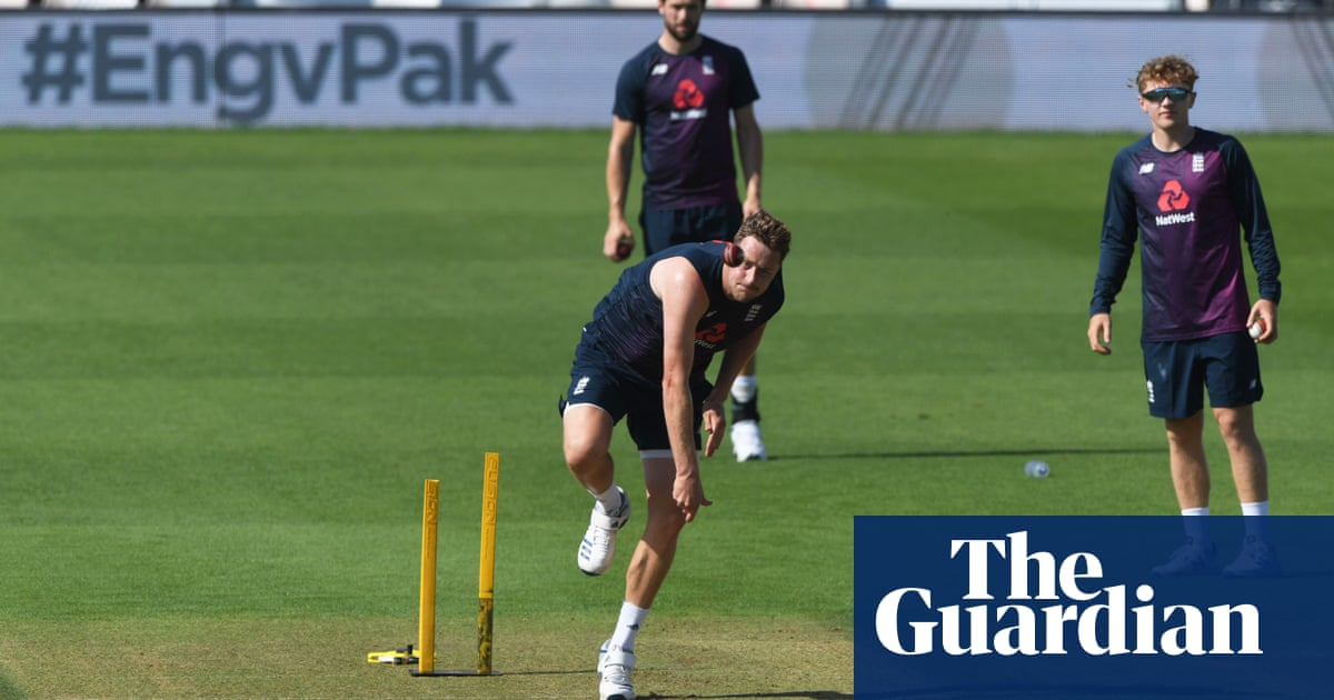 England call uncapped Ollie Robinson into squad for second Pakistan Test