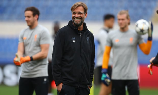 Jürgen Klopp Liverpool training