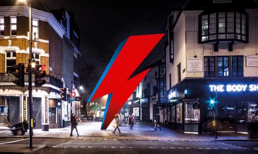 Proposed permanent memorial in Brixton to the late Ziggy Stardust singer David Bowie