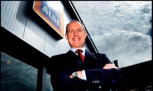Paul Foley, Aldi's third employee in the UK and former chief executive.