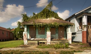 A tour of abandoned New Orleans, 10 years after Katrina - in pictures
