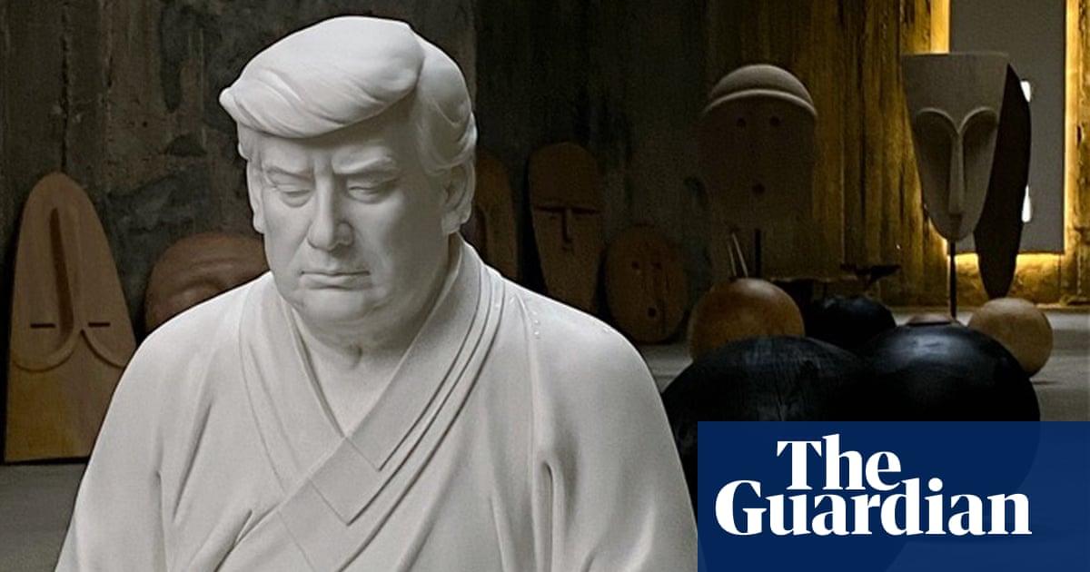 Chinese entrepreneur sells pensive Donald Trump Buddha statues