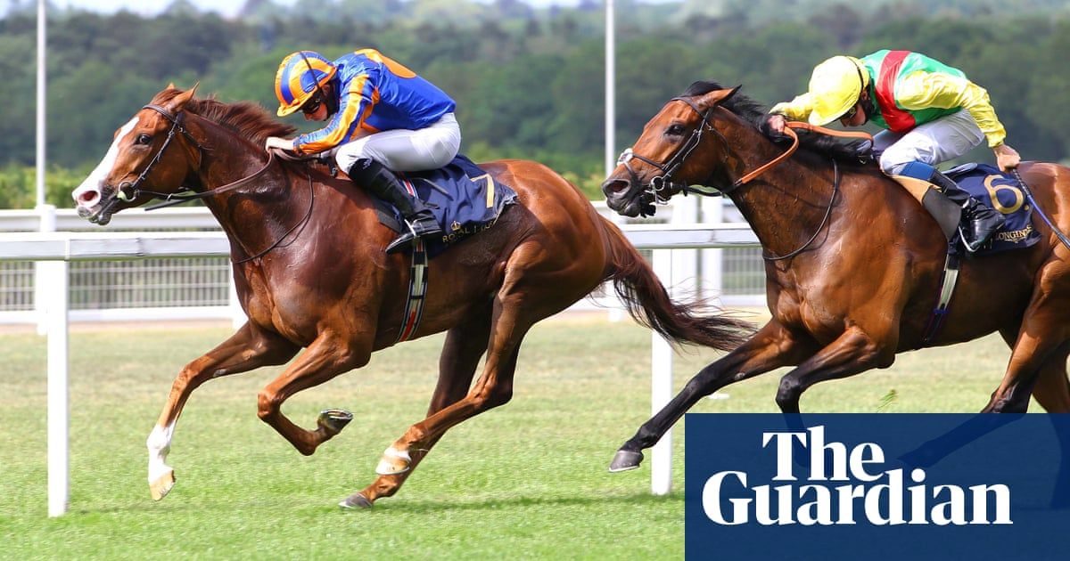 Love shrugs off break to win Prince of Wales's Stakes at Royal Ascot