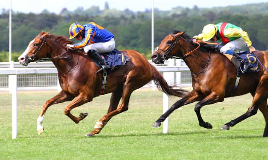 Love holds off Audarya to win the Prince of Wales's Stakes at Royal Ascot