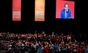 Delegates at Labour's annual conference in Liverpool.
