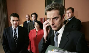 Malcolm Tucker in The Thick of It.