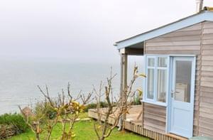 Shamrock Cabin, Whitsand Bay, Cornwall