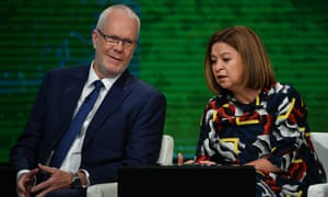 Justin Milne and Michelle Guthrie were reportedly at odds over Triple J's decision to move the Hottest 100 from Australia Day.