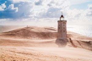 Rubjerg Knude lighthouse, northern Jutland, Denmark