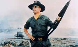 Surf's up: Robert Duvall as lieutenant colonel Bill Kilgore