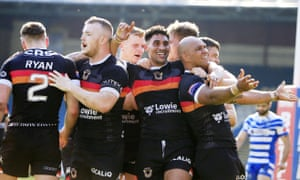 Bradford are in contention for the Championship play-offs this season
