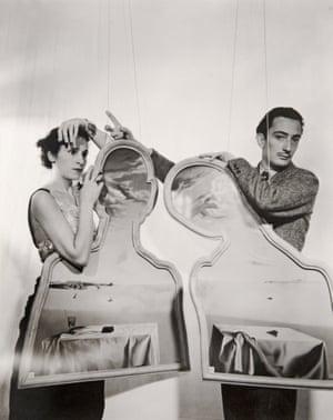 Salvador and Gala Dali, London, 1936