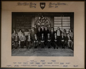 A photo from Oxford University from the 1980s