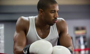 Michael B Jordan in Creed.