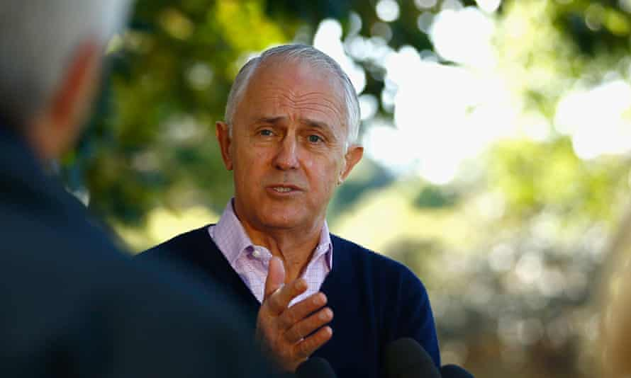 Malcolm Turnbull speaks to the media on Sunday after the Coalition's byelection defeats