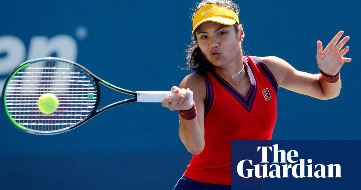 Emma Raducanu reaches US Open third round after breezing past Zhang Shuai