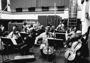 'You had to walk in there on the day and play what you were given' … the KPM Orchestra
