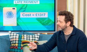 Actor Michael Sheen on ITV's This Morning launching the End High Cost Credit Alliance.
