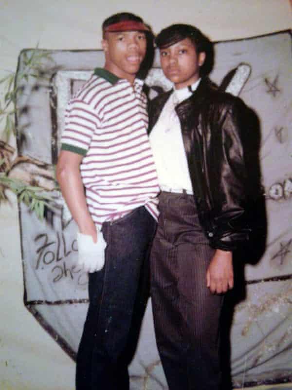 Chris Turner and Rachel Fletcher in 1984.