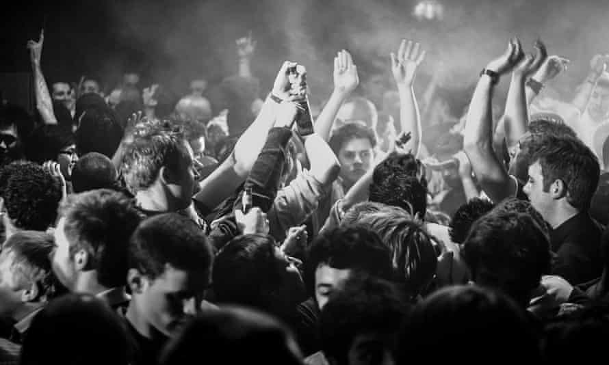 People in a club
