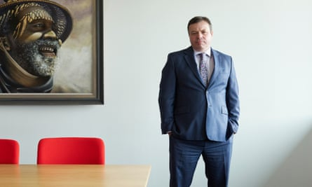 Arron Banks in his offices in Bristol in 2010.