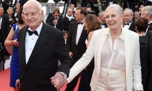 James Ivory and Vanessa Redgrave hit the red carpet.