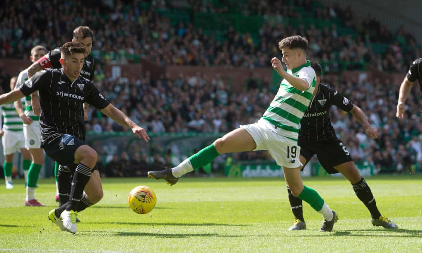 James Forrest the goal hero as Celtic toil to Dunfermline victory