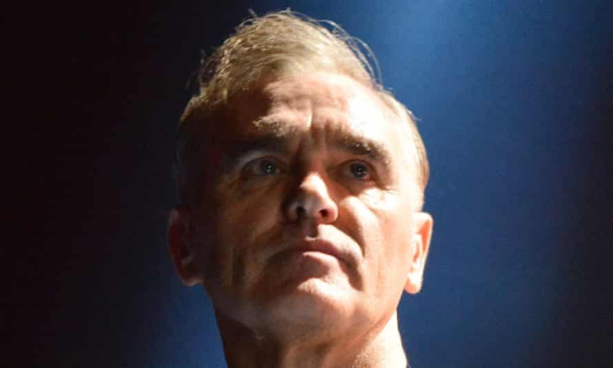 Morrissey on stage in London in 2014.