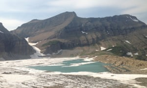 The number of glaciers in Glacier national park, Montana, has halved since 1968 due to rising temperatures. All are on course to disappear by the middle of the century.