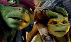 Teenage Mutant Ninja Turtles: Out of the Shadows.