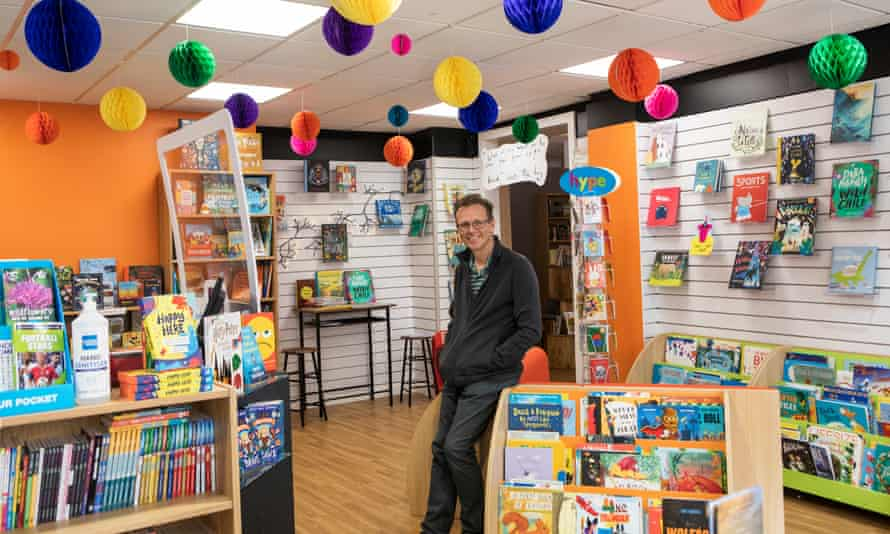 """Richard Drake of Drakes bookshop, is """"a huge, huge advocate"""" of what the council is doing."""