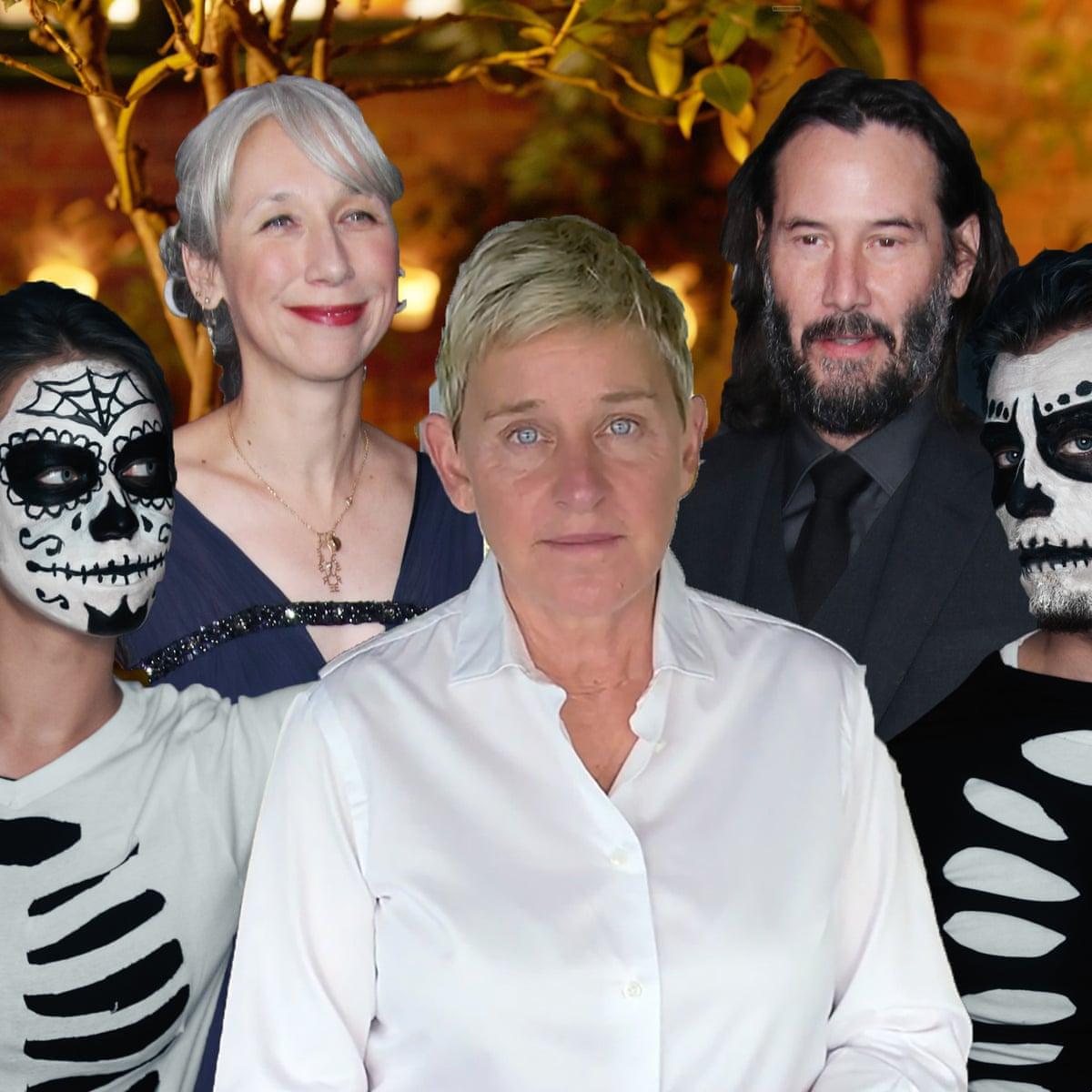 Dressed Up Like Ellen For Halloween 2020 Bad Ellen, Keanu Reeves' girlfriend, skeleton staff: the ultimate