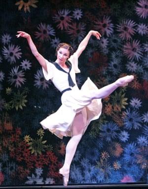 Maria Alexandrova in The Bright Stream by the Bolshoi at the Royal Opera House, London.