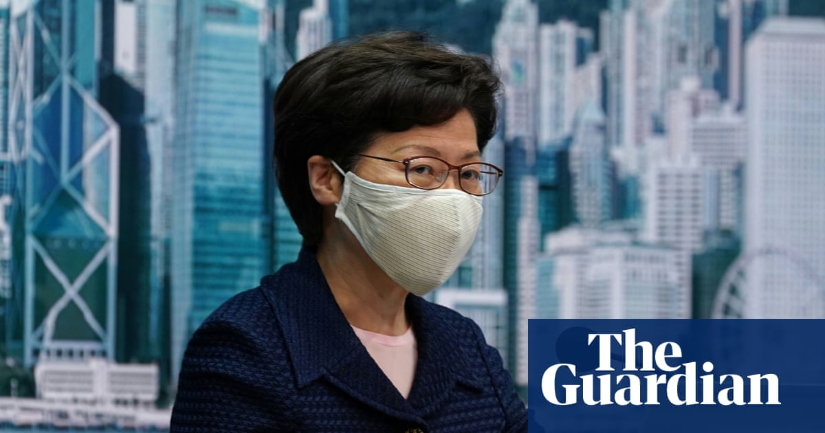 US slaps sanctions on Hong Kong leader Carrie Lam over free speech crackdown – The Guardian