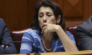 Constanca Urbano de Sousa attends a parliament debate in Lisbon.