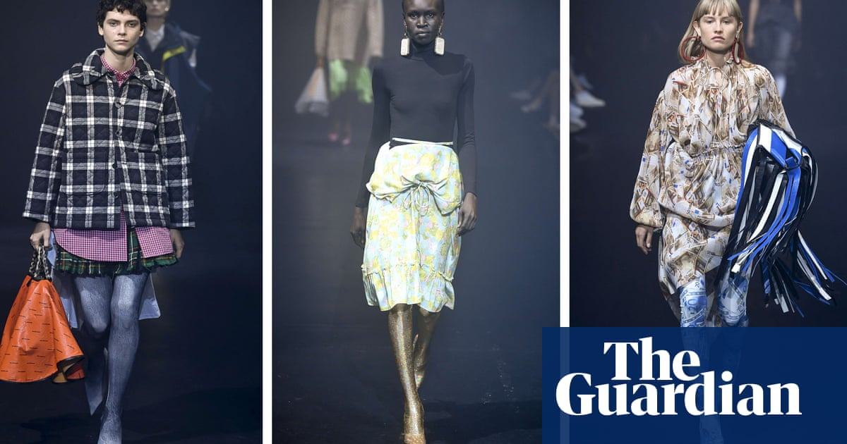 c6004475ba8dd Paris fashion week spring/summer 2018: the key shows – in pictures ...