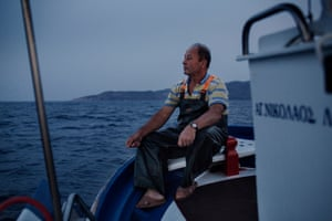 """I became a better person. We have seen humankind in all of its perspectives,"" says fisherman Thanassis Marmarinos of his experiences helping to rescue refugees who arrived on the shores around Skala Sykamineas in 2015. Marmarinos has pulled many people from the sea to safety. His grandparents were refugees from Asia but he had not witnessed tragedy on such a scale. Marmarinos is one of the islanders of Lesvos nominated for a Nobel Peace Prize for their acts of compassion."