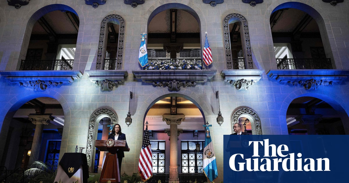 Kamala Harris faces doubts over retooled US policy in Central America