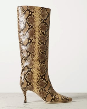 Snake print, £470, By Far at net-a-porter.com