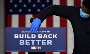 'The climate plan is a jobs plan. Our jobs plan is, in part, a climate plan,' said Stef Feldman, Biden's campaign policy director.