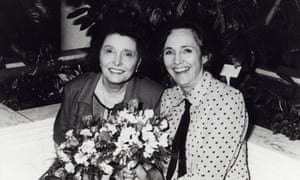 Valerie Eaton Griffith, right, with the actor Patricia Neal, whom she helped to recover from a series of strokes.