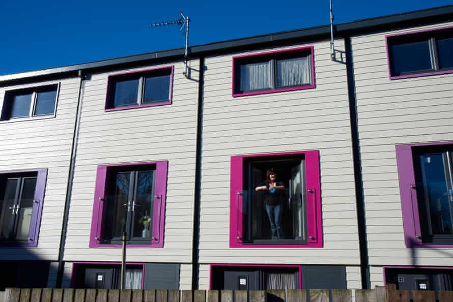 Low-carbon 'Energiesprong' homes in Nottingham.