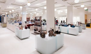 The new accessories hall at Selfridges