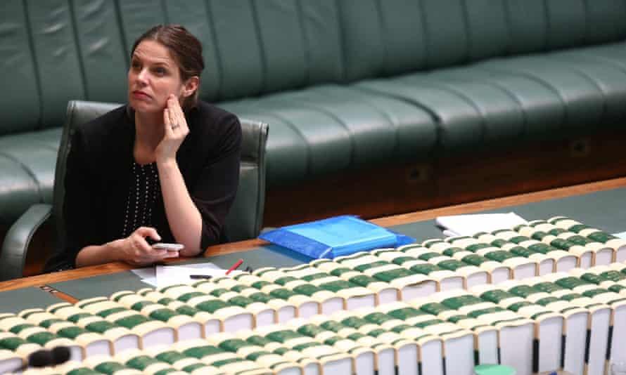 Kate Ellis in parliament in 2016