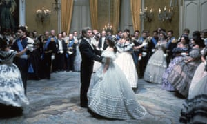 Piero Tosi's costumes for the grand ball in Luchino Visconti's The Leopard (1963) excelled in historical accuracy.