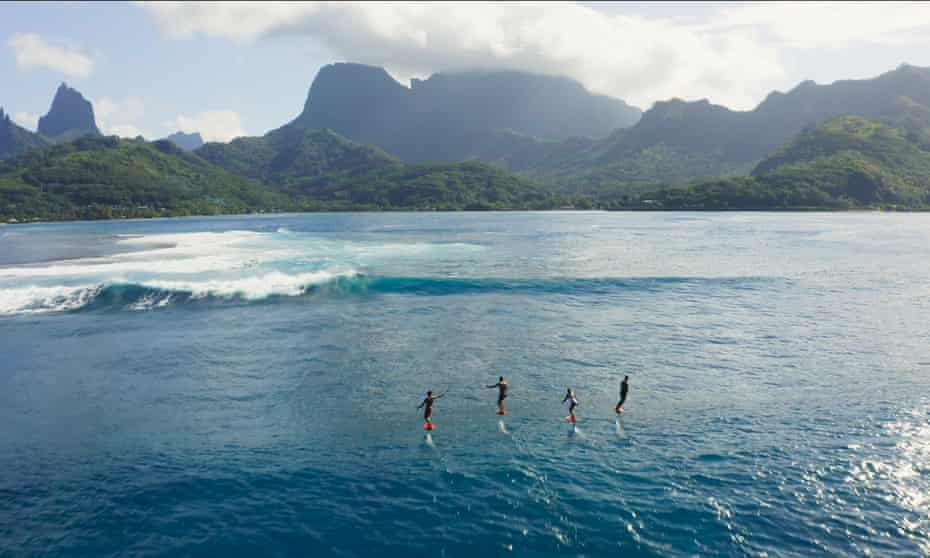 Surf's up … Reset, directed by Thierry Donard.