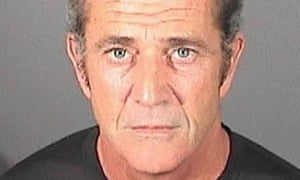 Mel Gibson is pictured in a booking photo at the El Segundo police department on 16 March 2011 in El Segundo, California.